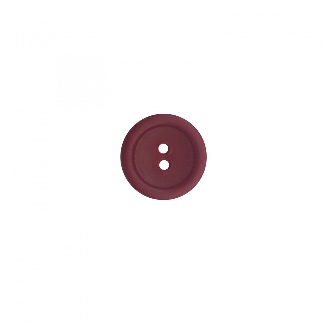 Button 20 mm Maroon