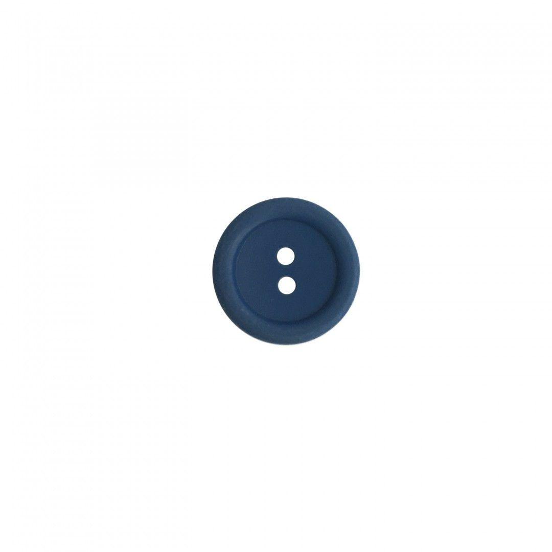 Button 20 mm Blue