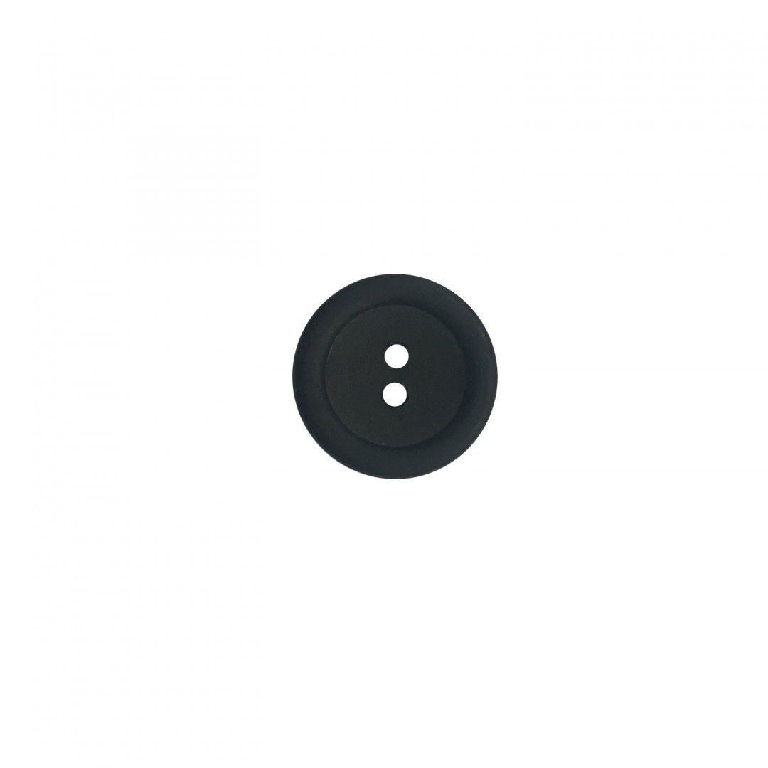 Button 20 mm Black