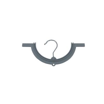 Percha curva Alfombrilla baño Gris 300235