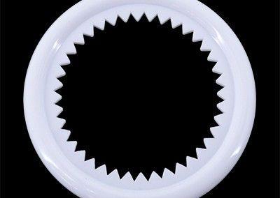 Arandela diámetro 25 mm blanca