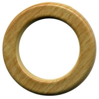 Ollao + Arandela cortina Acabado madera haya Ø40 mm PCP40D203