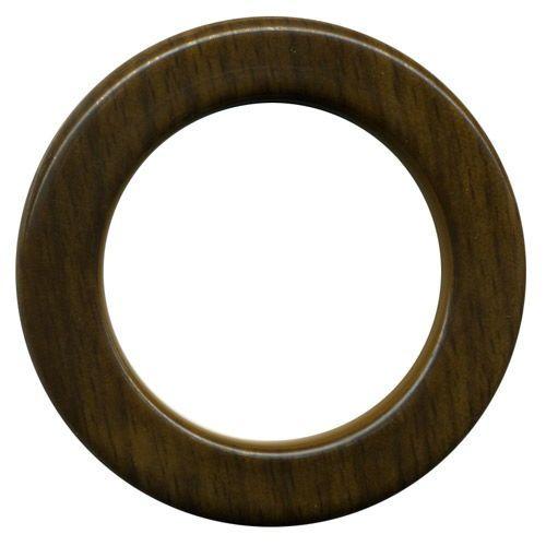 Ollao y Arandela madera nogal Ø40 mm