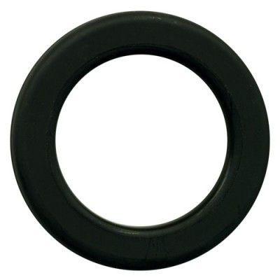 Ollao + Arandela cortina Acabado negro mate Ø40 mm PCP40D207
